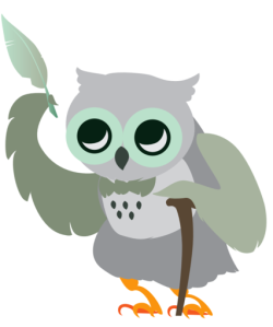 Wise old man Hoot